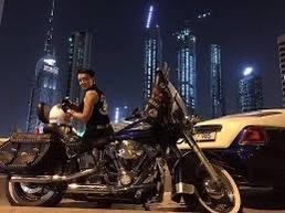 Shime Mehri Iranian Female Biker